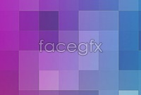 Colorful mosaic squares background picture