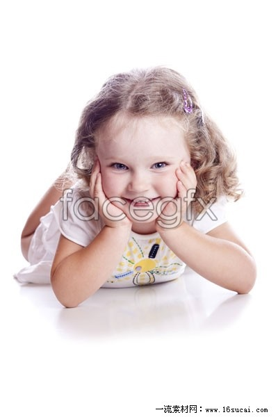 Face down little girls HD pictures