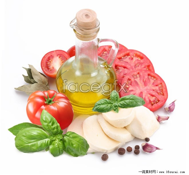 Gourmet ingredients high definition pictures