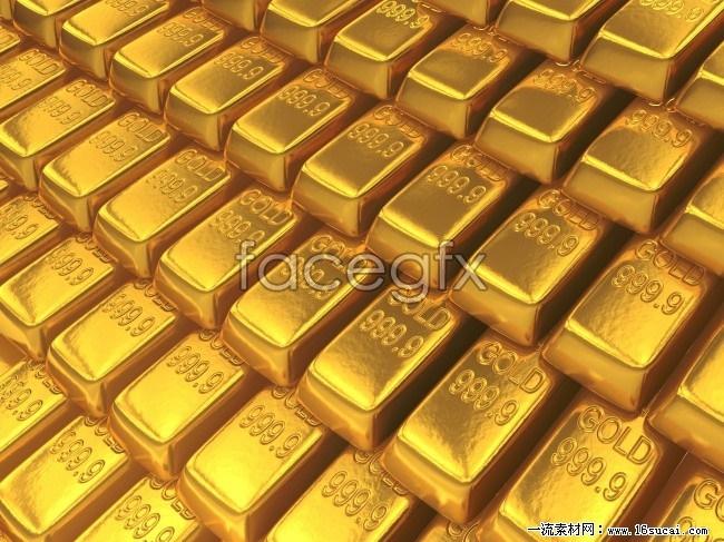 HD gold bullion picture