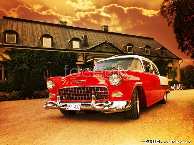 Red cool Chevrolet HD picture
