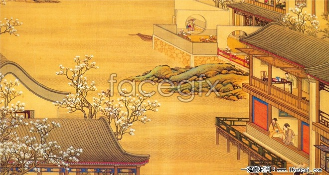 Chinese classical paintings and calligraphy, HD pictures