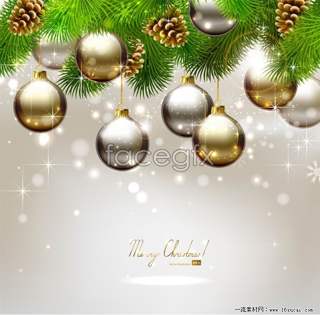Gorgeous Christmas decoration HD Photo