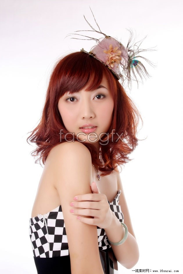 HD short PEAR hair beauty picture