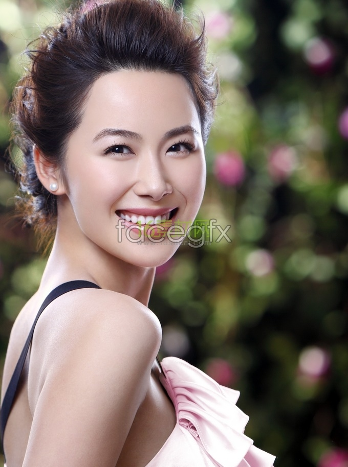 Korea beauty star Li Chengyuan high definition