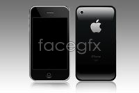 Iphone4 phones back high definition pictures