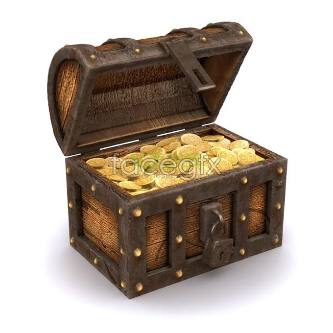 Treasure box HD Photo