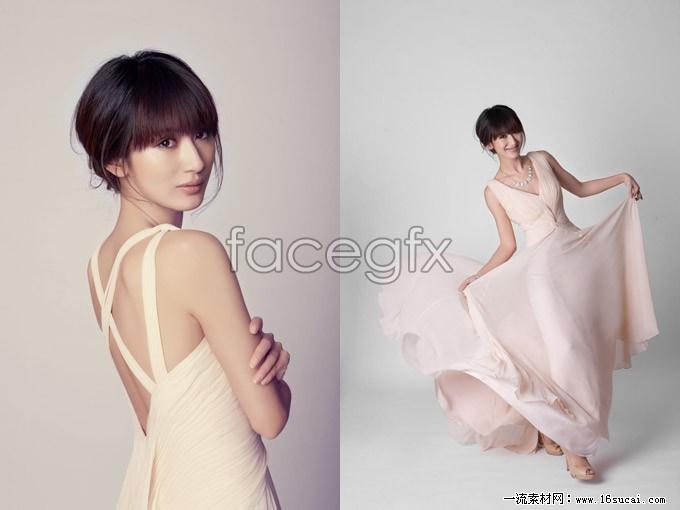 2 sexy Zhenni Guo HD picture