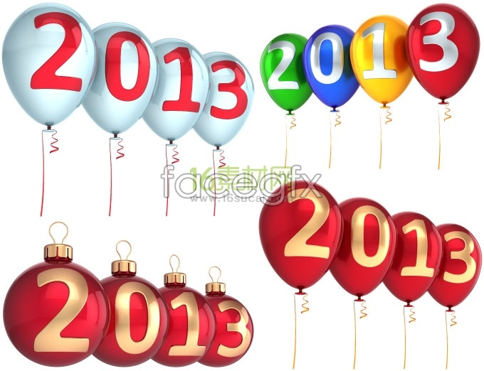 2013 balloon background high definition pictures