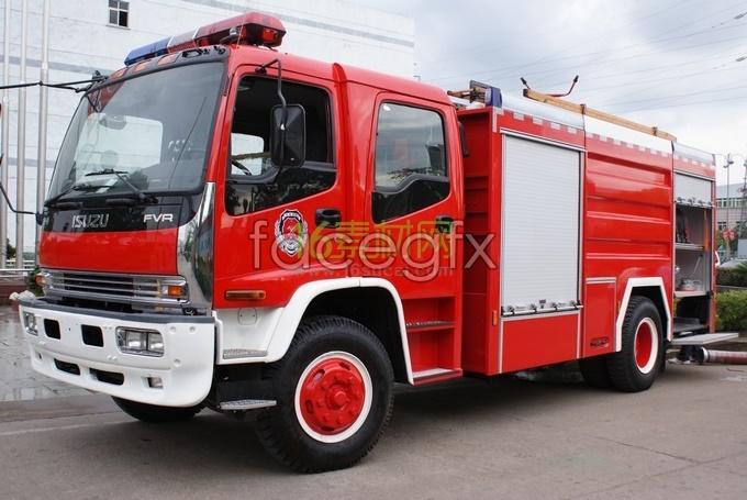 Fire fire fire truck HD picture