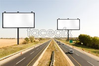 2 road outdoor Billboard HD picture