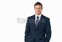 Men's casual suit picture