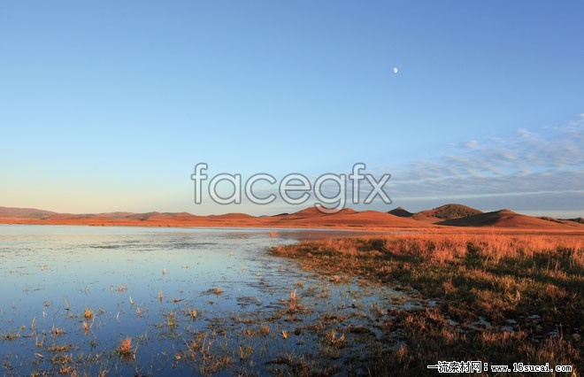 Desert Marsh landscape high definition pictures