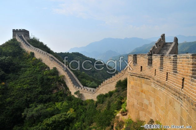 Great Wall landscape high resolution images