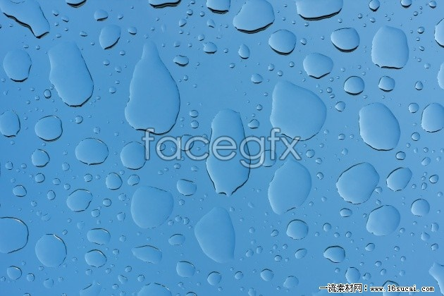 HD blue water drops background pictures to