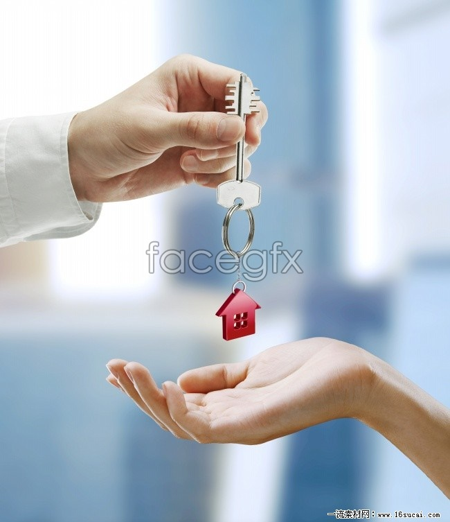 HD House key creative pictures