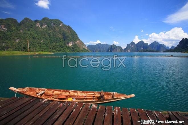 Summer Lake landscape high resolution images