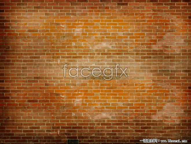 Yellow brick wall background HD picture