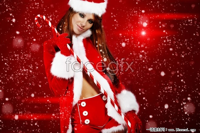 Europe sexy Christmas girls pictures HD