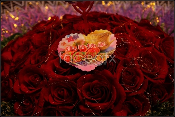 Happy birthday bouquets of roses pictures