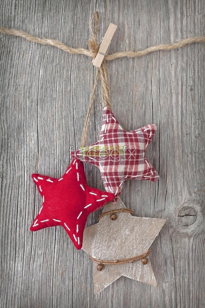 Pentagon cute Christmas decoration ornament HD pictures