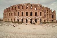 The Roman arena