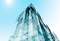 Urban design of the modern building model HD picture