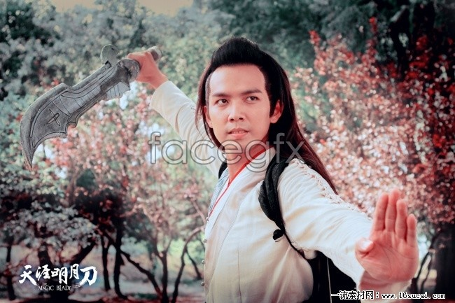 End of Fu Hong Moon heart snow HD pictures