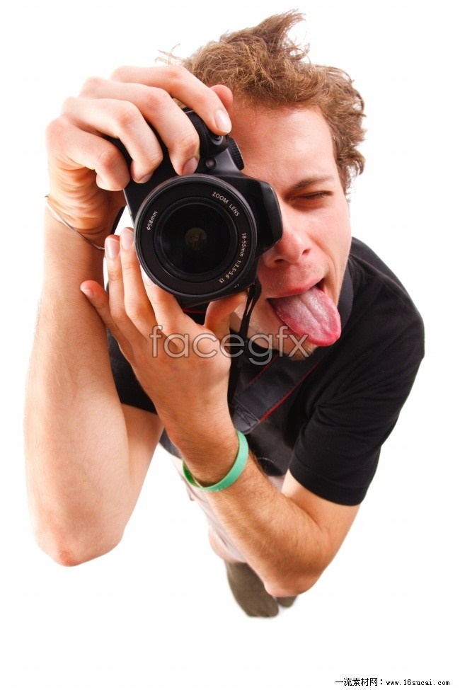 Handsome camera pictures