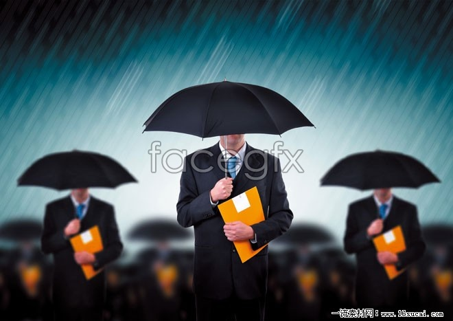 Umbrella business talents of high definition pictures