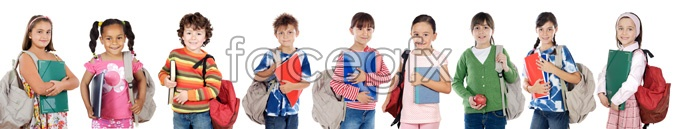 A row of dorsal bag student HD Photo
