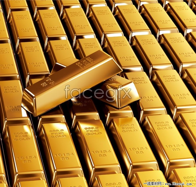 Bullion gold wealth HD picture