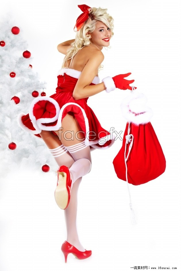 Christmas sexy silk stockings beautiful HD pictures