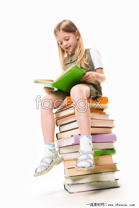Reading girls HD pictures