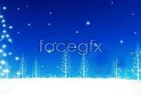 Christmas snowflake background high definition pictures