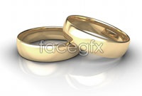 Gold couples ring HD pictures