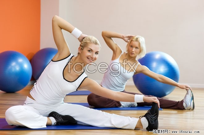 Yoga foreign girls HD pictures