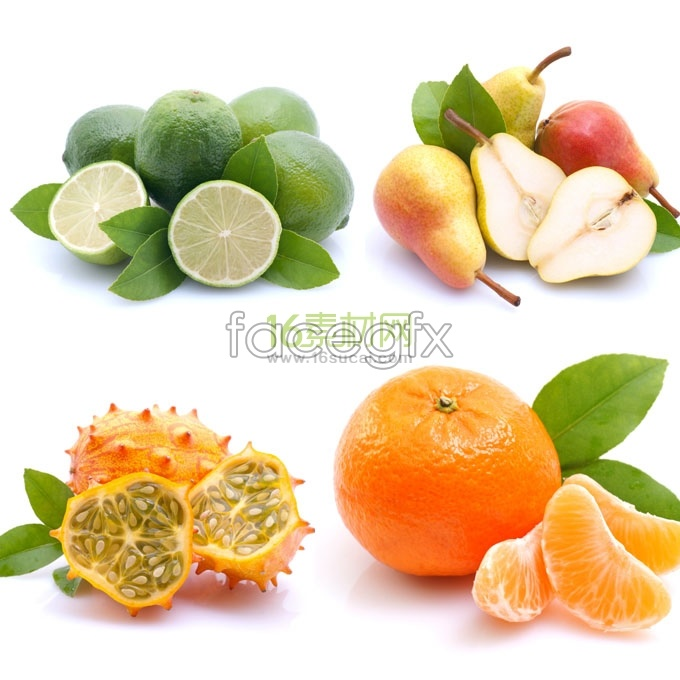 4 delicious fruit HD picture