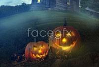 Jack-o-lanterns HD picture
