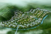 Real estate bird's eye view high definition pictures