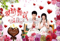 Romantic Valentine's day wishes theme high definition pictures