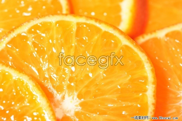Yellow orange slices high definition pictures