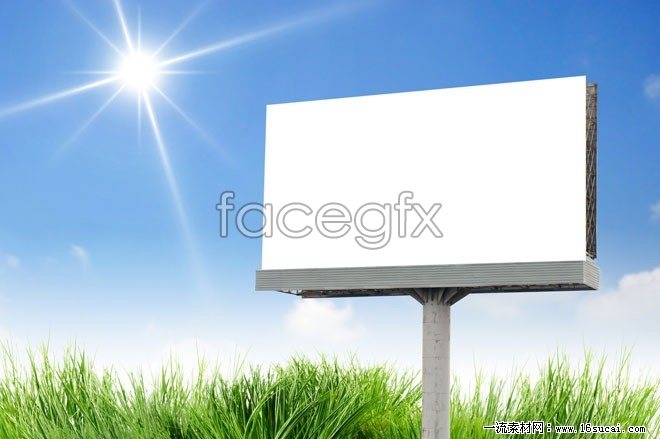 Billboards on the outskirts of HD picture