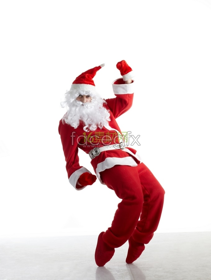 Dynamic vitality of Santa Claus HD pictures