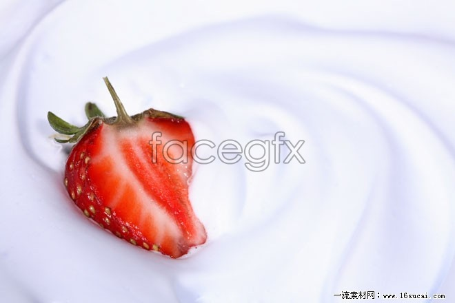HD milk Strawberry pictures