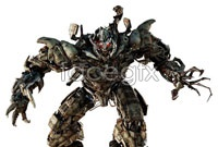 6 transformers 3D models HD picture