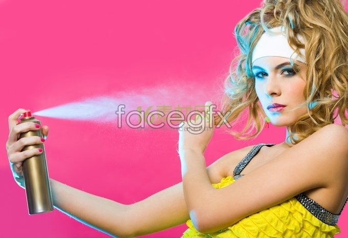 Fashion beauty eruption HD pictures