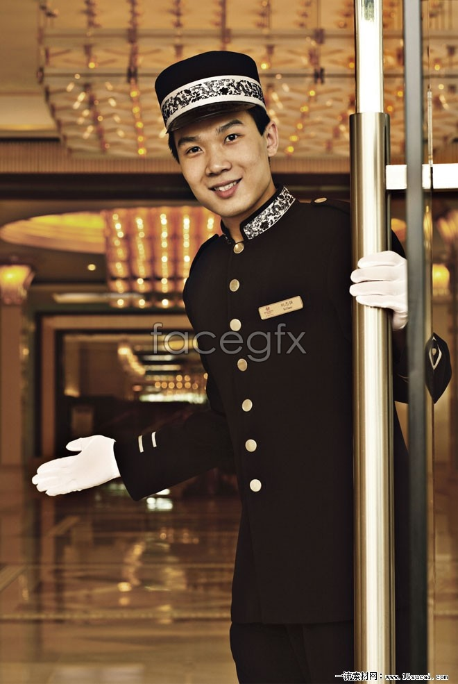 Five-star hotel high definition pictures
