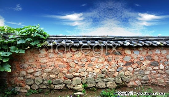 Garden walls high definition pictures