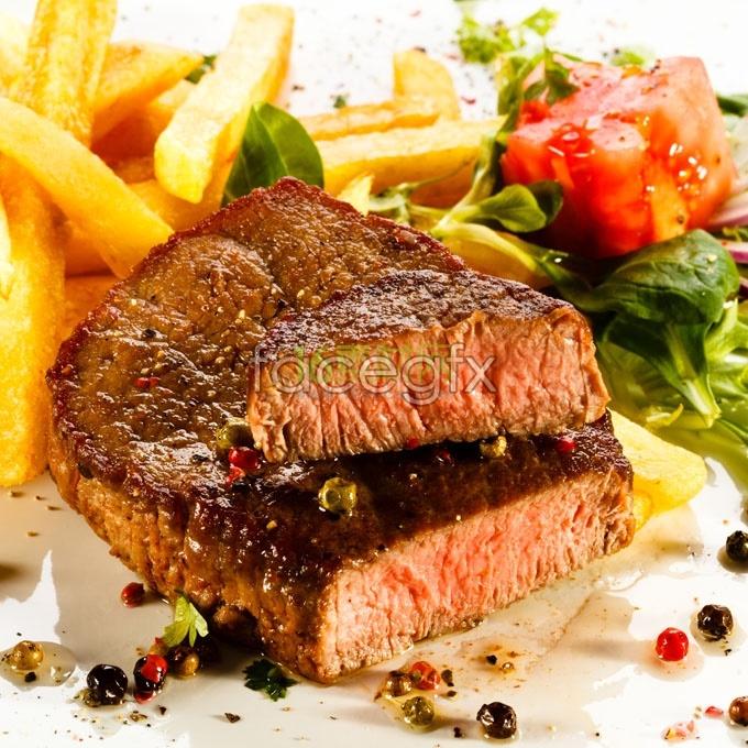 Grilled Steak HD Photo